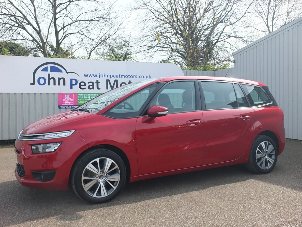 used Citroen C4 Picasso 1.6 HDI Grand Selection 5dr 7 seater Diesel