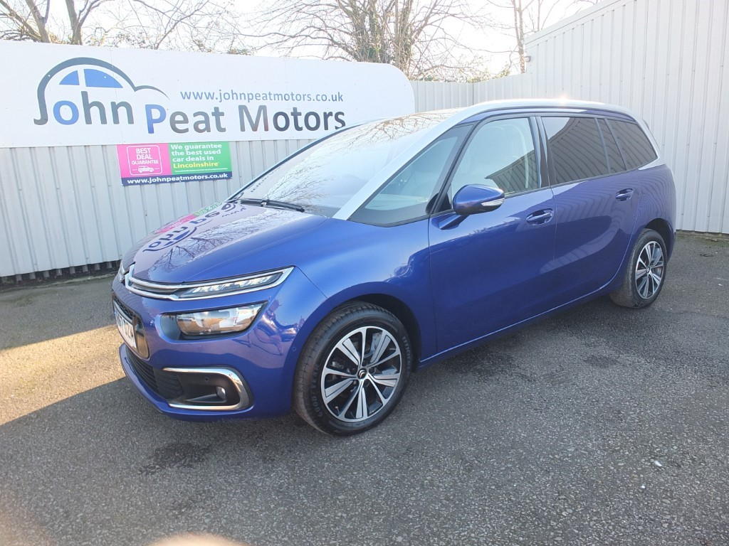 used Citroen Grand C4 Picasso 1.6 HDI Grand Blue HDI Flair 5dr Diesel S/S