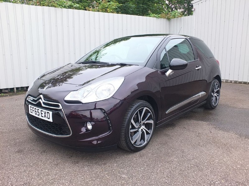 used Citroen DS3 1.2 DStyle Nav 3dr Purple