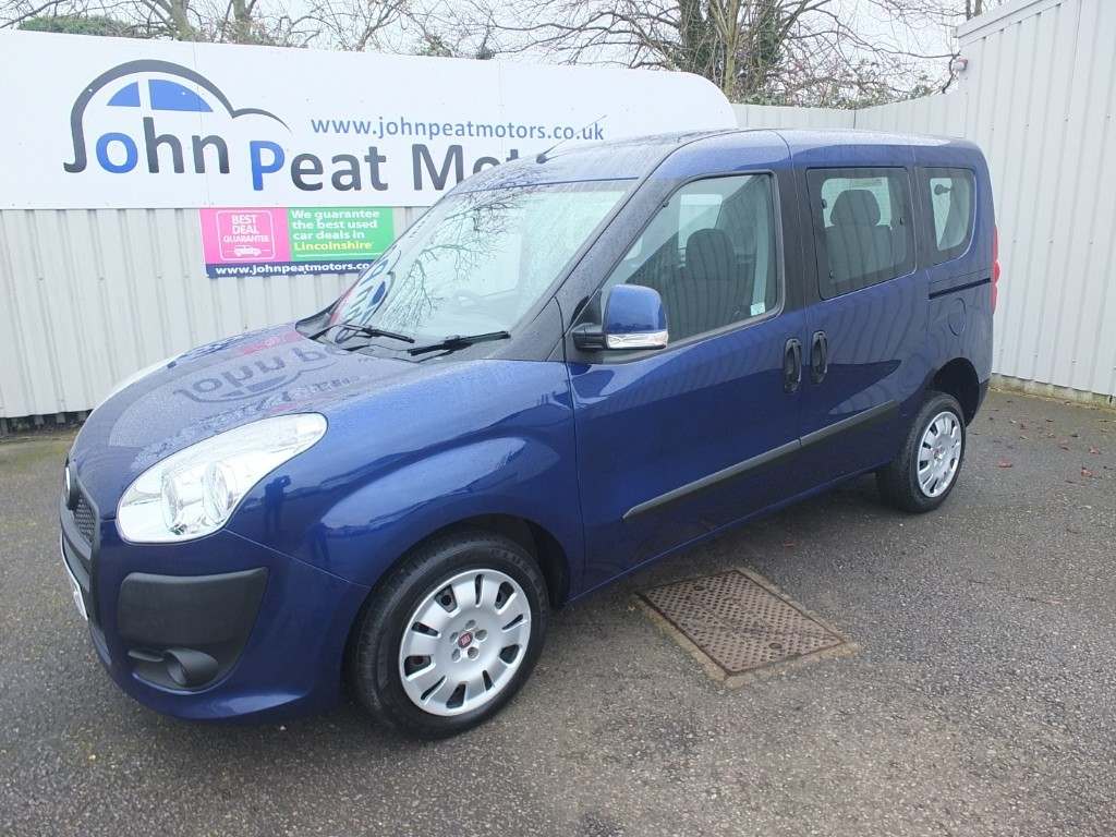 used Fiat Doblo 1.6TD Multijet Mylife Wheelchair Adapted Vehcile