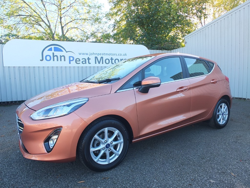 used Ford Fiesta 1.0T Zetec B&O Play 5dr