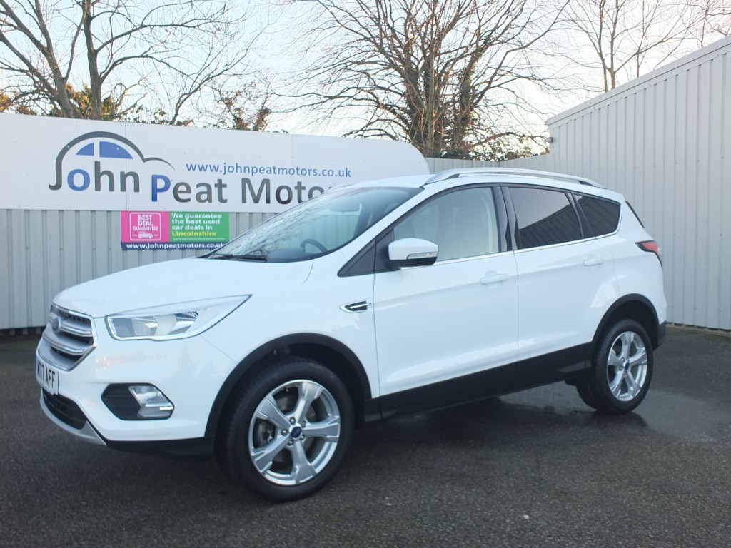 used Ford Kuga 1.5 TDCI Zetec Appearance Pack (New Shape)