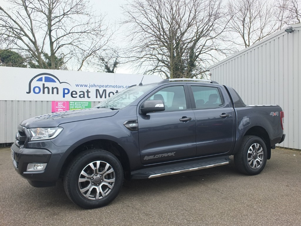 used Ford Ranger 3.2 TDCI Wildtrack 4X4 DCB Diesel Automatic