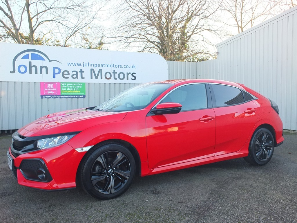 used Honda Civic 1.0 VTEC Turbo SR Nav 5dr