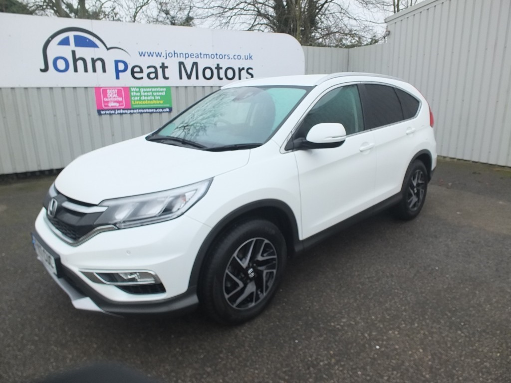 used Honda CR-V 1.6 I-DTEC SE Plus 5dr Diesel
