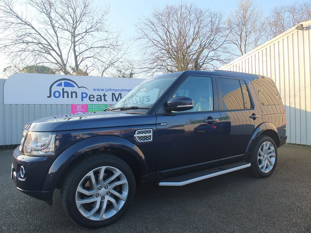 used Land Rover Discovery 3.0 SDV6 HSE 4 5dr Diesel Automatic 7 Seater
