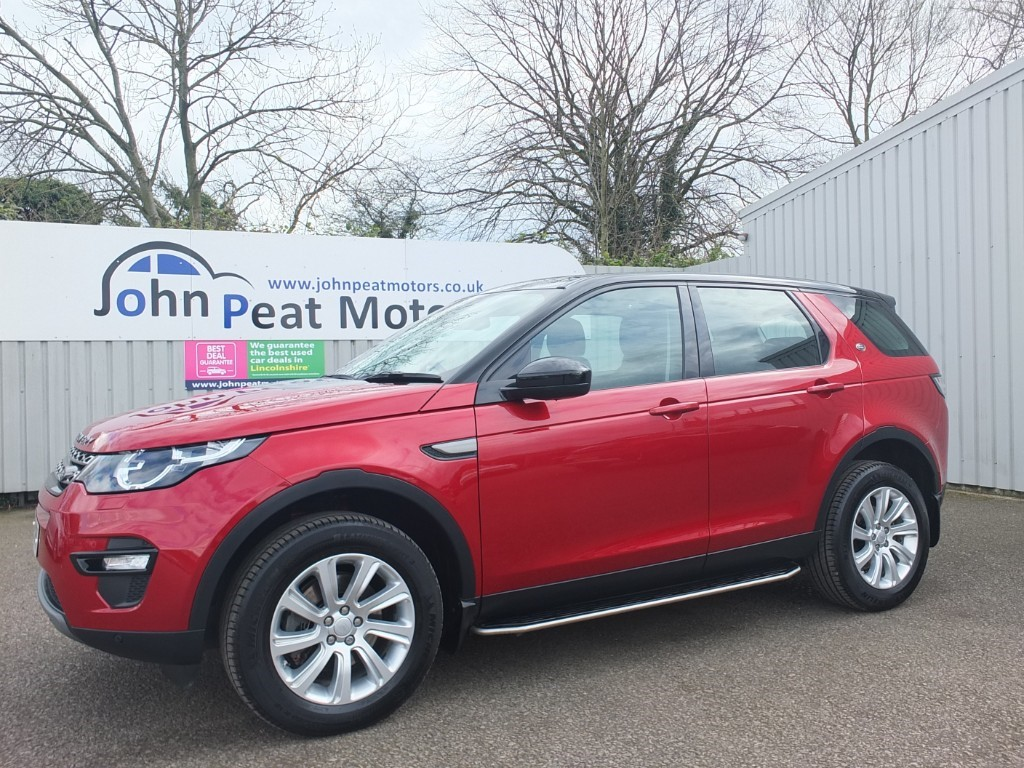 used Land Rover Discovery Sport 2.2 SD4 SE Tech 5dr Diesel 7 Seater