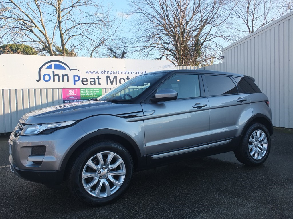 used Land Rover Range Rover Evoque 2.2 Diesel SD4 Pure Tech Manual 5dr