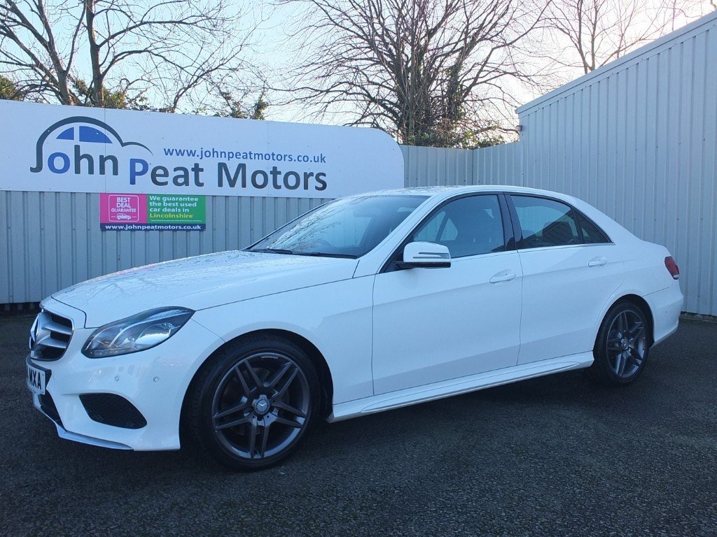 used Mercedes E250 2.1 CDI AMG Sport Premium Line 4 dr