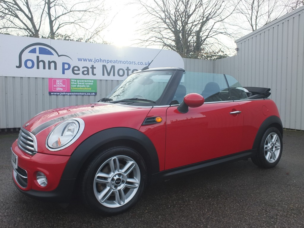 used MINI Convertible 1.6 Cooper Convertible