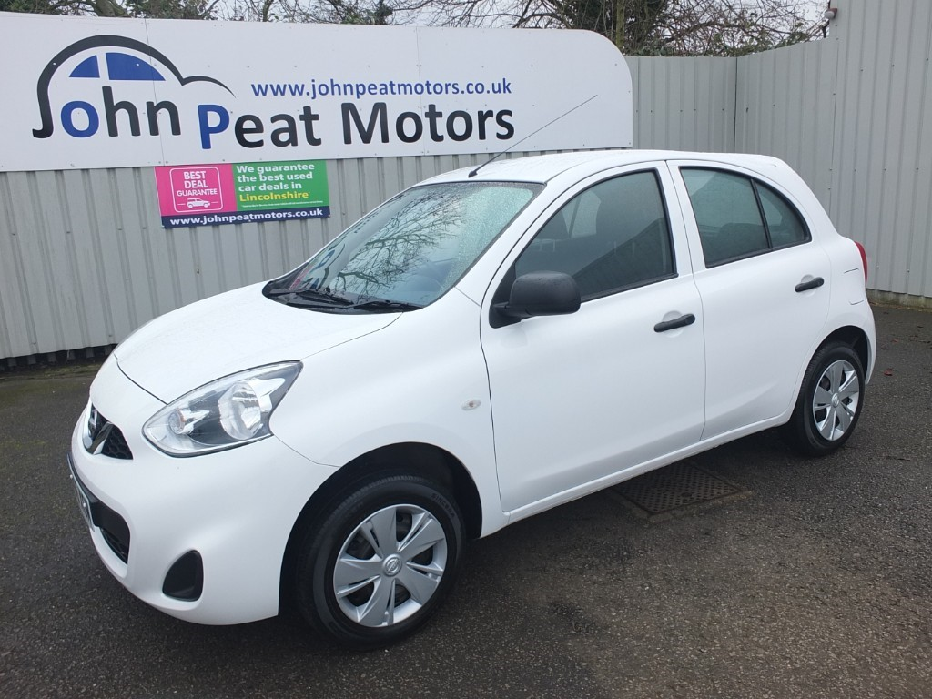 used Nissan Micra 1.2 Visia Limited Edition 5dr