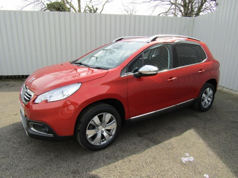 peugeot 2008 1 6 e hdi allure 5dr diesel automatic red for sale sleaford lincolnshire john. Black Bedroom Furniture Sets. Home Design Ideas
