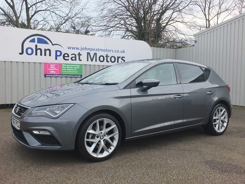 used SEAT Leon 1.4 TSI FR TECHNOLOGY 5dr