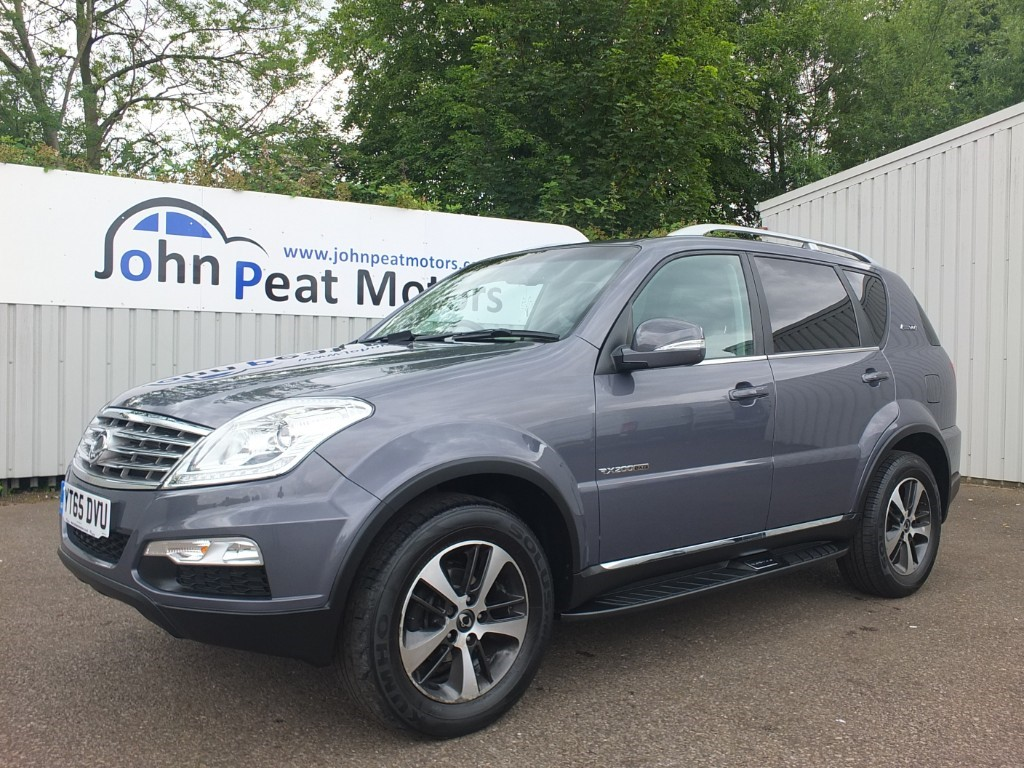 used Ssangyong Rexton 2.0 TD EX T-Tronic 5dr Diesel Automatic 7 Seat