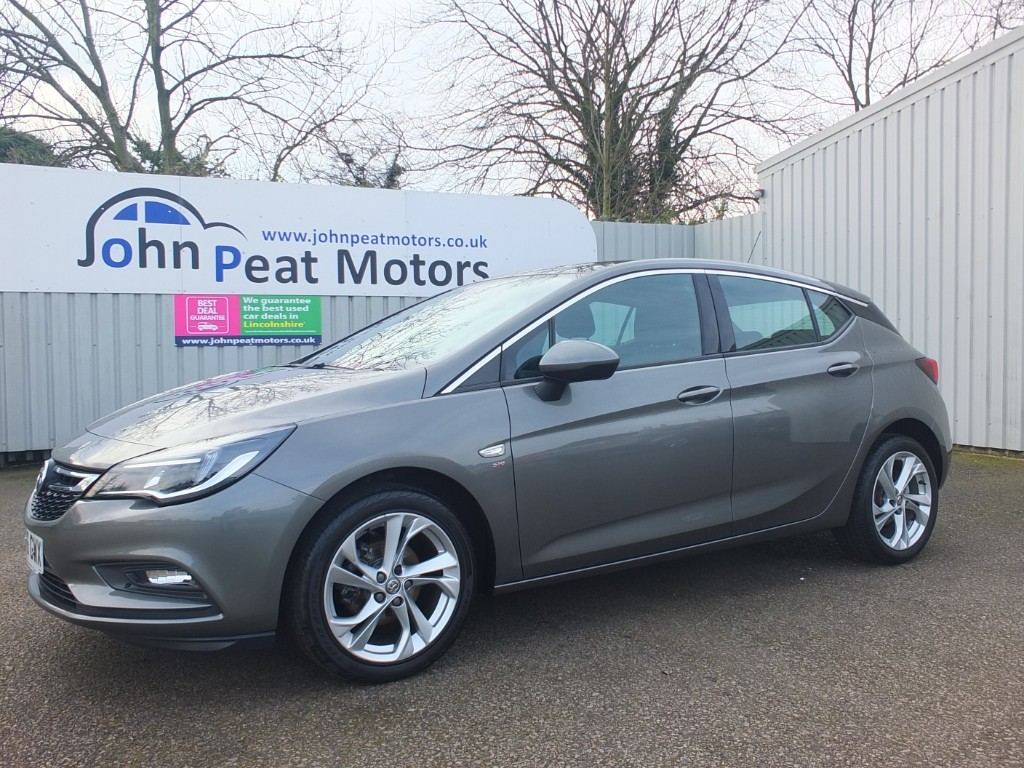 used Vauxhall Astra 1.0T SRI Ecoflex S/S 5dr