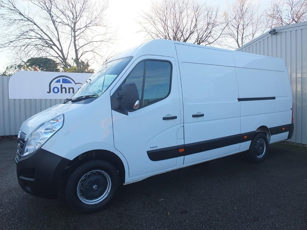 used Vauxhall Movano 2.3 CDTI R3500 L3H2 P/V 130 L3 H2