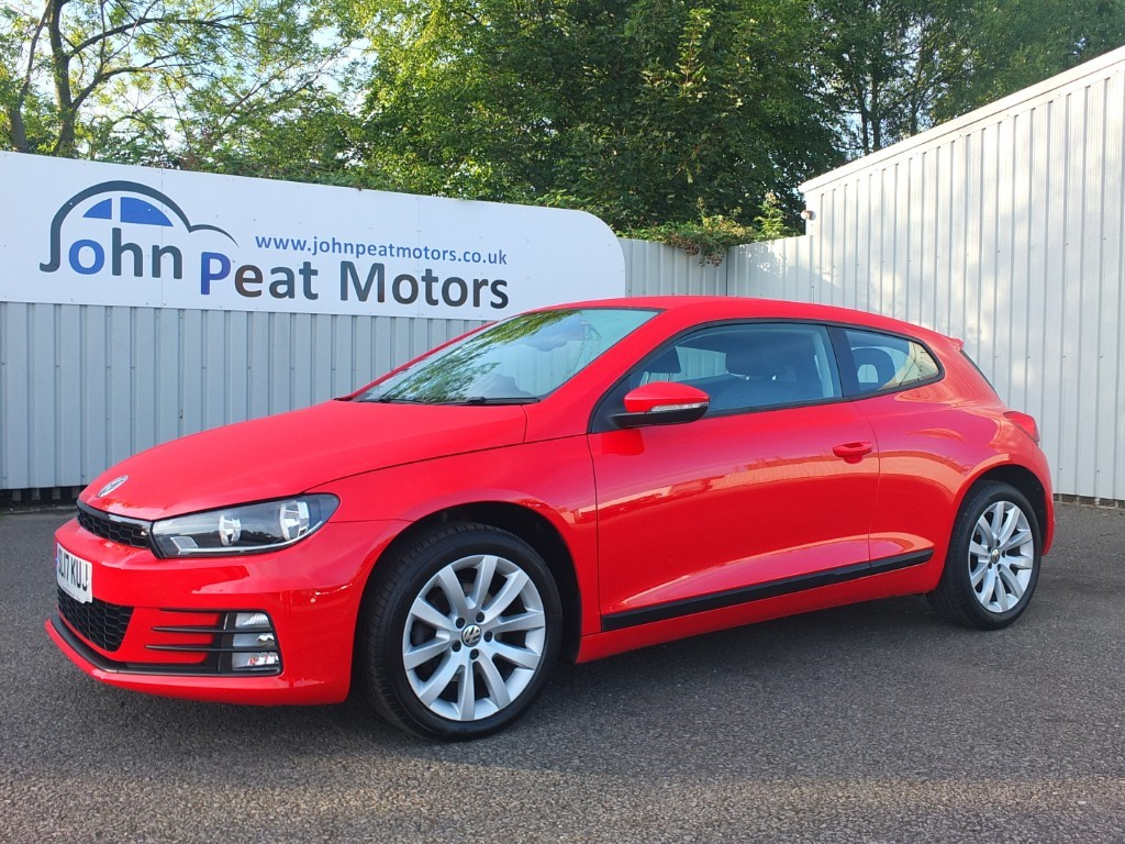 used VW Scirocco 1.4 TSI Bluemotion Technology 2dr