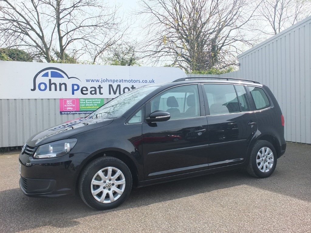 used VW Touran 1.6 TDI S DSG 7 Seater 5dr Diesel Auto