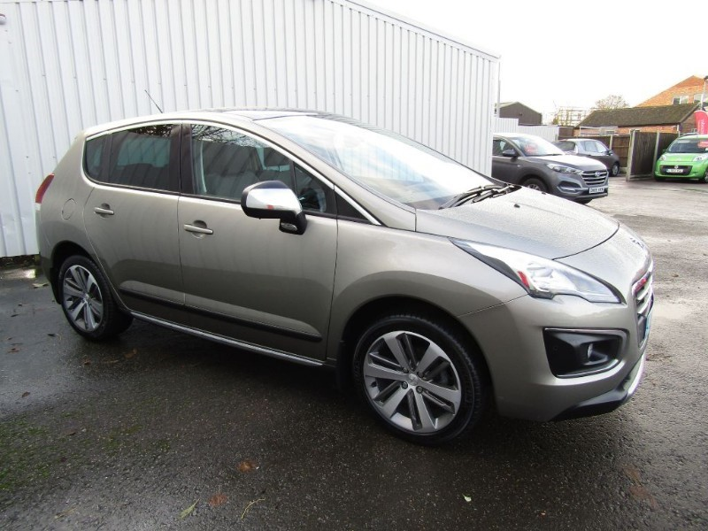 peugeot 3008 1 6 e hdi allure 5dr diesel automatic for sale sleaford lincolnshire john peat. Black Bedroom Furniture Sets. Home Design Ideas