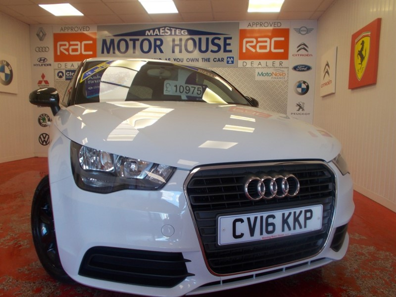 used Audi A1 SE (ONLY 32000 MILE AND £0.00 ROAD TAX) FREE MOT'S AS LONG AS YOU OWN THE CAR!!! in glamorgan