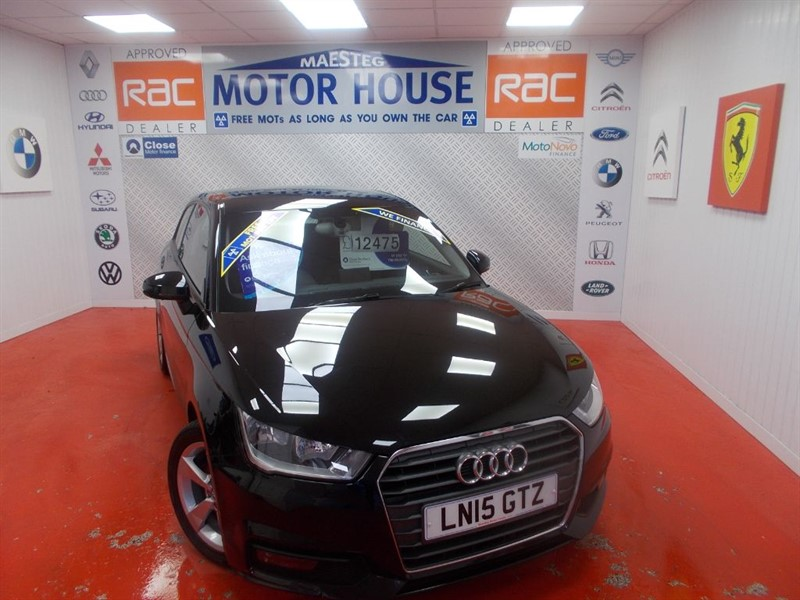 used Audi A1 TFSI SPORT(£30.00 ROAD TAX) FREE MOT'S AS LONG AS YOU OWN THE CAR!!! in glamorgan