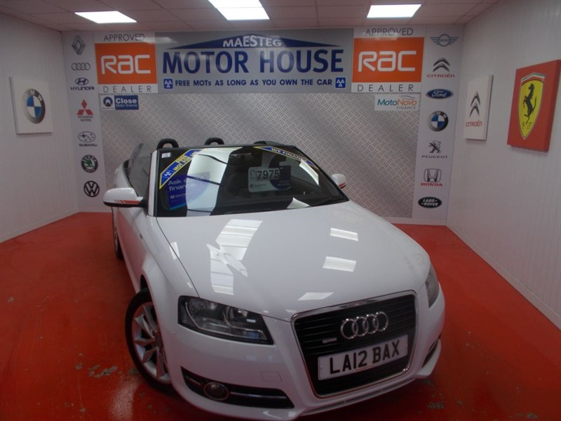 used Audi A3 TFSI SPORT(MUST BE VIEWED)FREE MOT'S AS LONG AS YOU OWN THE CAR!!! in glamorgan