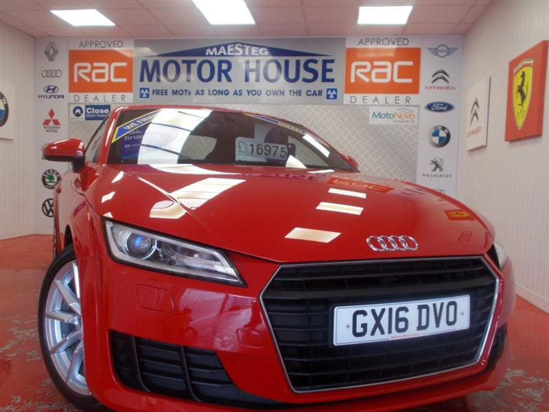 used Audi TT TDI ULTRA SPORT( ONLY £30.00 ROAD TAX)(ONLY 35000 MILES) FREE MOT'S AS LONG AS YOU OWN THE CAR!!! in glamorgan