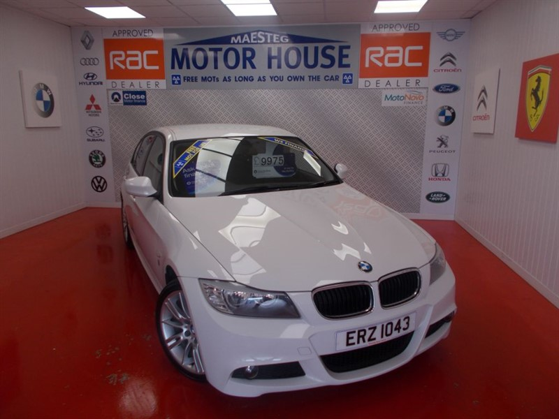 used BMW 318i PERFORMANCE EDITION(FREE MOT'S AS LONG AS YOU OWN THE CAR!!!) in glamorgan