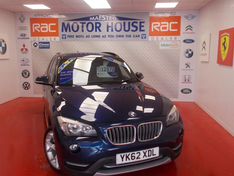 used BMW X1 XDRIVE18D XLINE (4X4) FREE MOT'S AS LONG AS YOU OWN THE CAR!!! in glamorgan