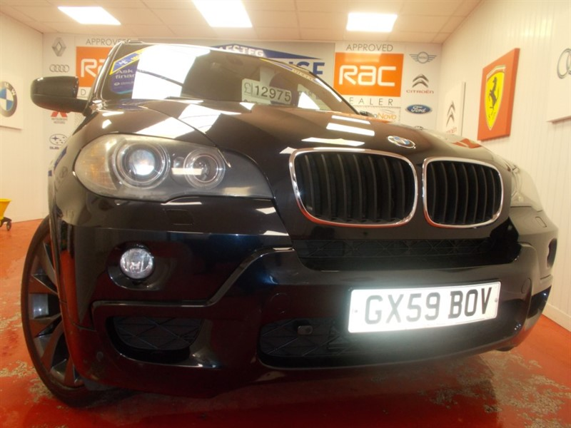 used BMW X5 XDRIVE30D M SPORT (7 SEATS) FREE MOT'S AS LONG AS YOU OWN THE CAR!! in glamorgan