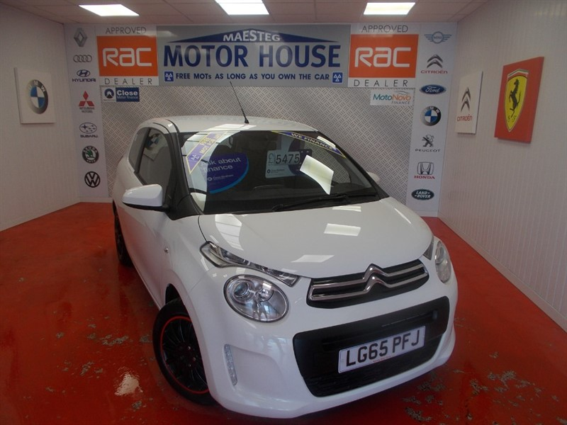 used Citroen C1 FEEL (ONLY 24000 MILES)(£0.00 ROAD TAX) FREE MOT'S AS LONG AS YOU OWN THE CAR!! in glamorgan