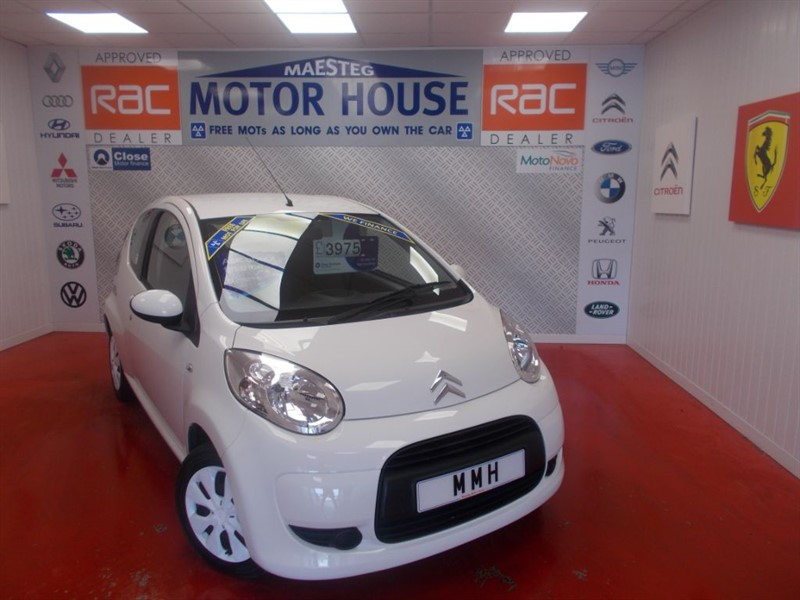 Car of the week - Citroen C1 VTR(£20.00 ROAD TAX) FREE MOT'S AS LONG AS YOU OWN THE CAR!!! - Only £3,975