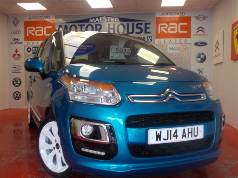 used Citroen C3 Picasso SELECTION (FREE MOT'S AS LONG AS YOU OWN THE CAR!!!) in glamorgan