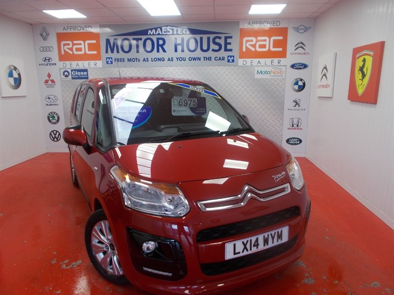used Citroen C3 Picasso VTR PLUS HDI(ONLY 13000 MILES)FREE MOT'S AS LONG AS YOU OWN THE CAR!!! in glamorgan