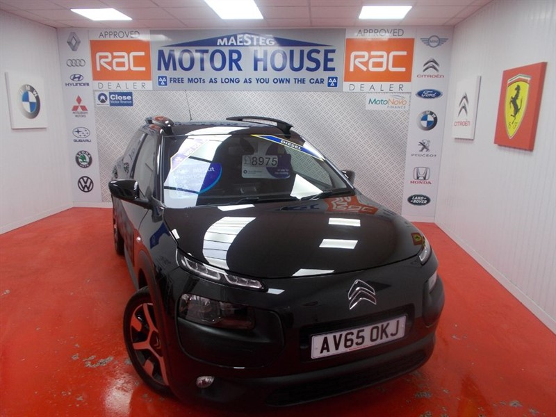 used Citroen C4 Cactus BLUEHDI FLAIR (£0.00 ROAD TAX) FREE MOT'S AS LONG AS YOU OWN THE CAR!!! in glamorgan