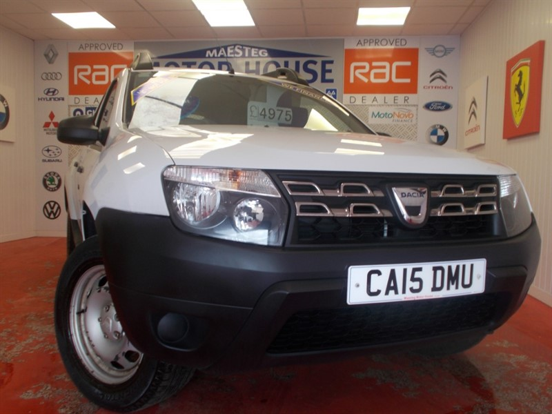 used Dacia Duster ACCESS (ONLY 40705 MILES) (GREAT VALUE) FREE MOT'S AS LONG AS YOU OWN THE CAR!!! in glamorgan