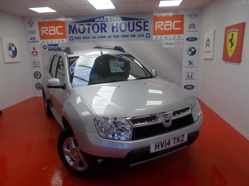 used Dacia Duster LAUREATE DCI(ONLY 33000 MILES) in glamorgan