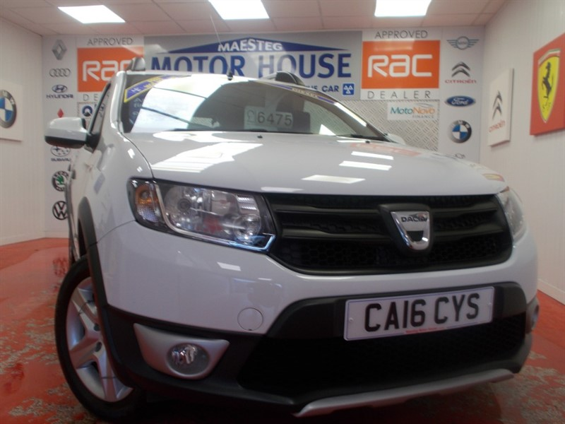 used Dacia Sandero STEPWAY AMBIANCE DCI(£0.00 ROAD TAX AND ONLY 30715 MILES) FREE MOT'S AS LONG AS YOU OWN THE CAR!!! in glamorgan