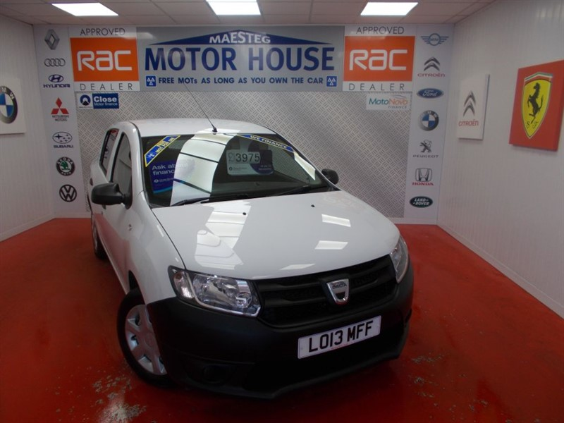 used Dacia Sandero ACCESS(GREAT VALUE)FREE MOT'S AS LONG AS YOU OWN THE CAR!!! in glamorgan