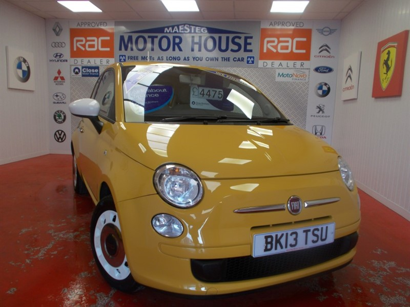 used Fiat 500 COLOUR THERAPY (ONLY £30.00 ROAD TAX) FREE MOT'S AS LONG AS YOU OWN THE CAR!!! in glamorgan