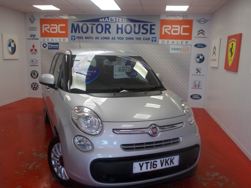 used Fiat 500L MULTIJET POP STAR (7 SEATER & £20.00 ROAD TAX)  FREE MOT'S AS LONG AS YOU OWN THE CAR!!! in glamorgan