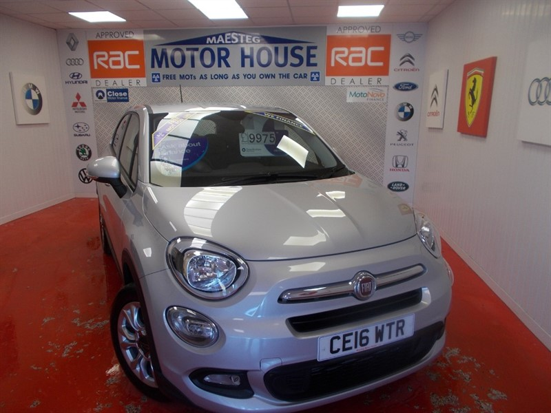 used Fiat 500X MULTIAIR POP STAR ( ONLY 30911 MILES FREE MOT'S AS LONG AS YOU  OWN THE CAR!!! in glamorgan