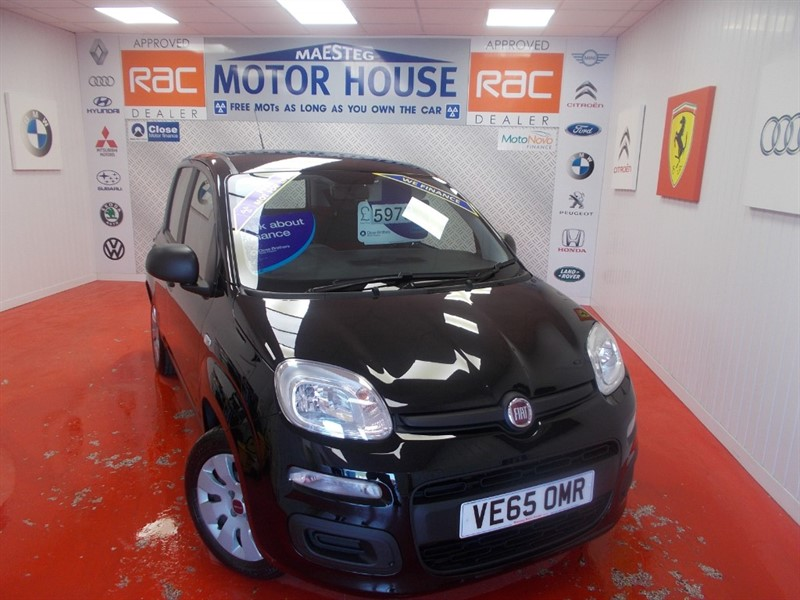 used Fiat Panda POP (ONLY 21000 MILES) FREE MOT'S AS LONG AS YOU OWN THE CAR!!! in glamorgan