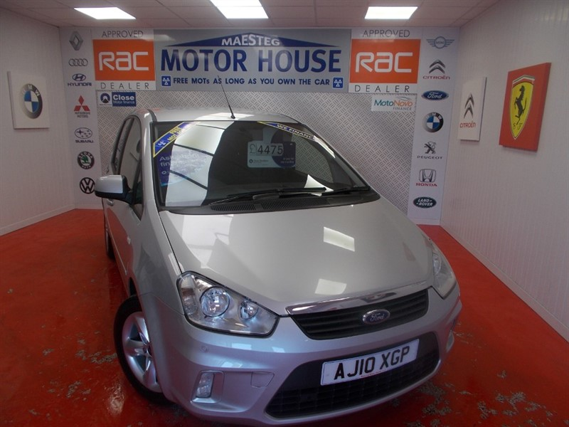 used Ford C-Max ZETEC 100(ONLY 38000 MILES)FREE MOT'S AS LONG AS YOU OWN THE CAR!!! in glamorgan