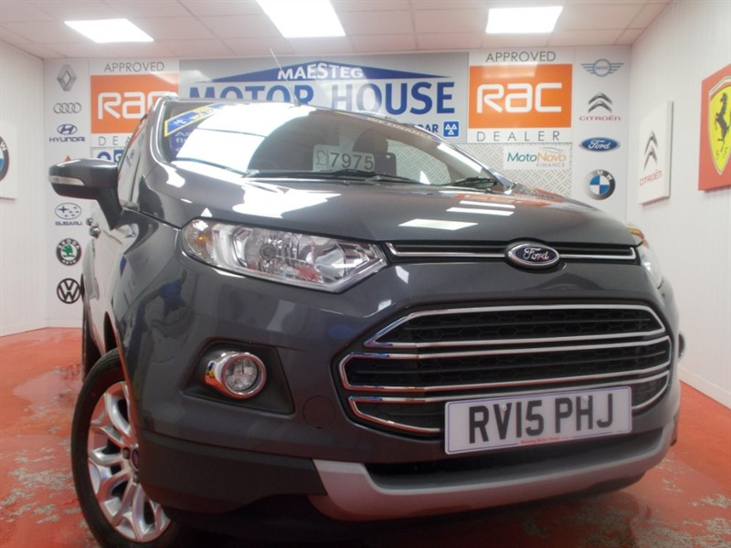 used Ford EcoSport TITANIUM(ONLY 39204 MILES) FREE MOT'S AS LONG AS YOU OWN THE CAR!!! in glamorgan