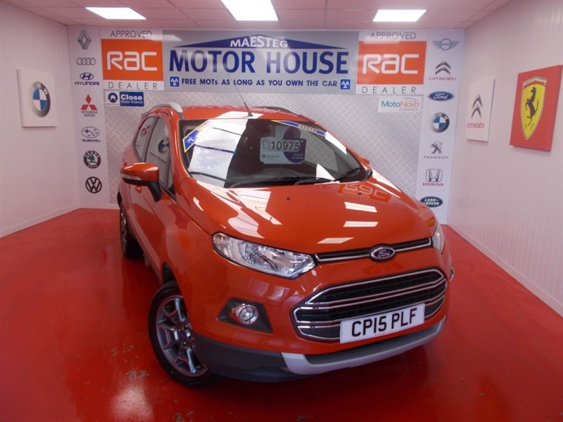 used Ford EcoSport TITANIUM TDCI(£30.00  ROAD TAX)FREE MOT'S AS LONG AS YOU OWN THE CAR!!! in glamorgan