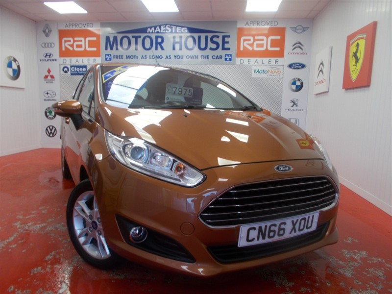 used Ford Fiesta ZETEC (ONLY £0.00 ROAD TAX) (SAT NAV) FREE MOT'S AS LONG AS YOU OWN THE CAR!!! in glamorgan
