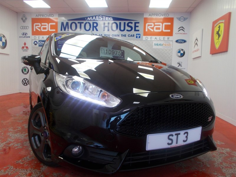used Ford Fiesta ST-3 (SAT NAV AND ONLY 31909 MILES) FREE MOT''S AS LONG AS YOU OWN THE CAR!!! in glamorgan