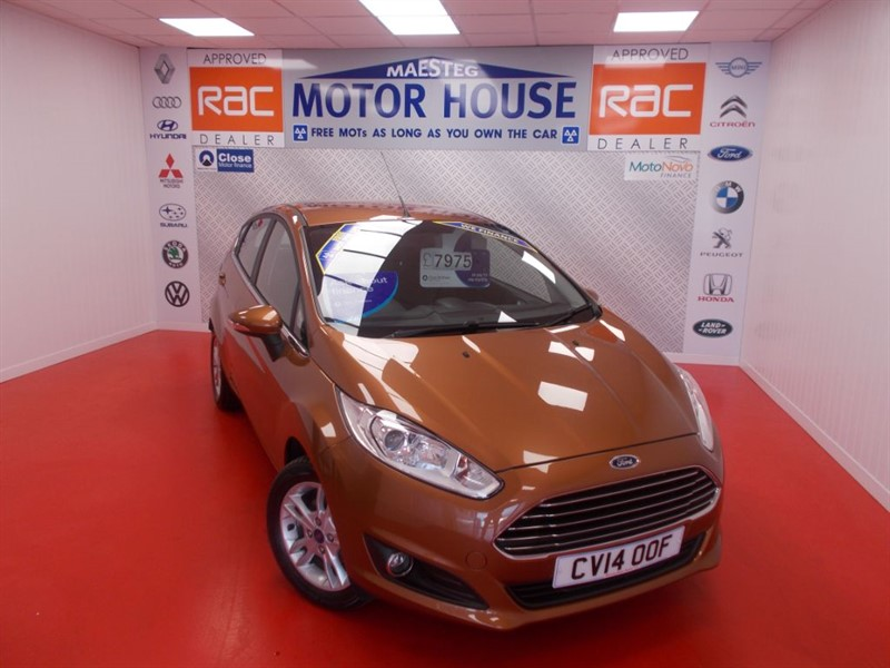 Car of the week - Ford Fiesta ZETEC(27000 MILES) FREE MOT'S AS LONG AS YOU OWN THE CAR!!! - Only £7,475
