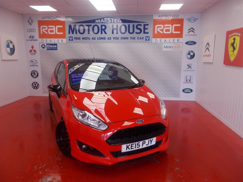 used Ford Fiesta ZETEC S RED EDITION(£20.00 ROADTAX) FREE MOT'S AS LONG AS YOU OWN THE CAR in glamorgan